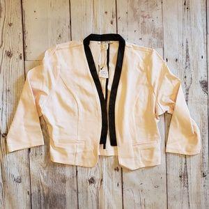 Body Central Soft Pink Blazer